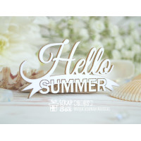 Чіпборд напис Hello Summer Hi-407