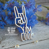 "Чипборд ""I am cool"" Ht-065"